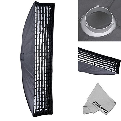 Fomito Godox 35x160cm / 13.78 x 63 inches Studio Lighting Softbox Bowens Mount with Honeycomb Grid