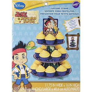 Wilton 1512-1665 Disney Jake And The Never Land Pirates Cupcake Stand