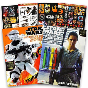 Star Wars Coloring Book Ultimate Set With Stickers And Crayons (Star Wars Party Supplies)