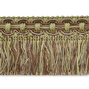 Expo Cn0079221806-27 27 Yd Of Conso Cut Fringe Trim, Brown Multi