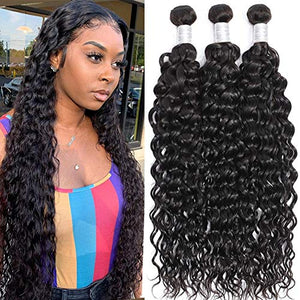 Brazilian Hair Water Wave Bundles