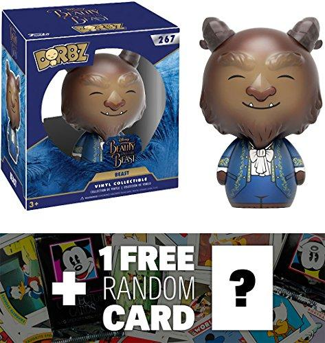 Beast: Funko Dorbz X Beauty & The Beast Vinyl Figure + 1 Free Classic Disney Trading Card Bundle (124003)