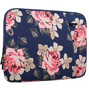 "Moko 13-13.5 Inch Canvas Sleeve Bag, Protective Carrying Briefcase Handbag Cover For Macbook Air 13"" / Macbook Pro 13""(201"
