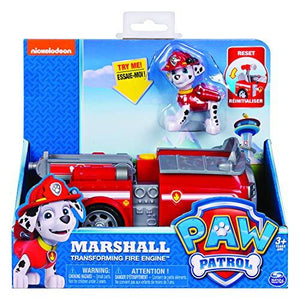 Paw Patrol, Marshall‰۪S Transforming Fire Truck With Pop-Out Water Cannons, For Ages 3 And Up