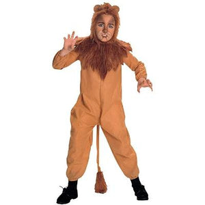 Rubies Wizard of Oz Child's Cowardly Lion Costume, Large