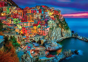 Buffalo Games - Vivid Collection - Cinque Terre - 300 Large Piece Jigsaw Puzzle