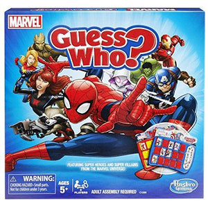 Hasbro Guess Who? Game: Marvel Edition