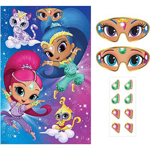 Amscan - Shimmer And Shine Party Game - Standard