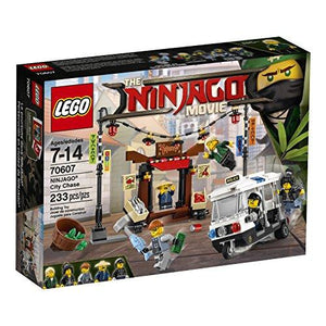 Lego Ninjago Movie City Chase 70607 Building Kit (233 Piece)