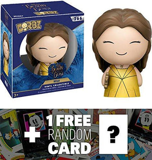 Belle: Funko Dorbz X Beauty & The Beast Vinyl Figure + 1 Free Classic Disney Trading Card Bundle (123990)