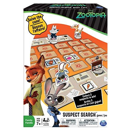 Spin Master Games ?‰ÛÏ Zootopia ?‰ÛÏ Suspect Search Card Game