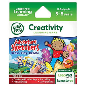 Leapfrog Adventure Sketchers! Draw, Play, Create Learning Game (For Leappad Tablets And Leapstergs)