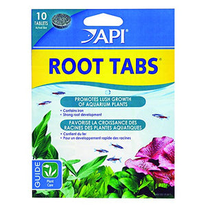 Api Root Tabs Freshwater Aquarium Plant Fertilizer 0.4-Oz 10-Count Box
