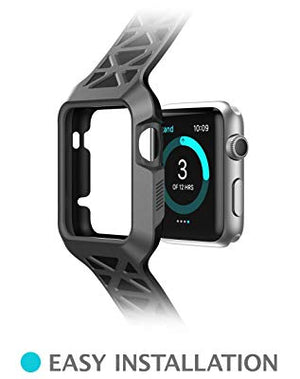 I-Blason Protective Case For Apple Watch 42 Mm 2015 Release (Black)