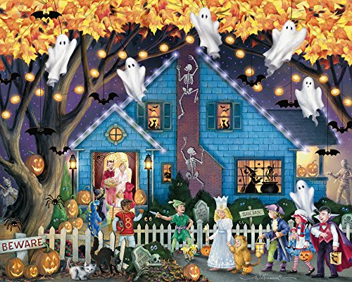 Vermont Ghostly Gathering Halloween Jigsaw Puzzle 1000 Piece