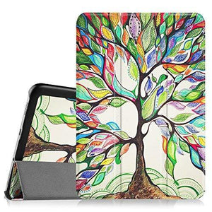 Fintie Samsung Galaxy Tab S2 8.0 Smart Shell Case Ultra Slim Lightweight Stand Cover - Love Tree