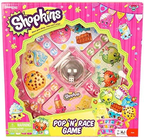 Shopkins/Pop And Race Board Game