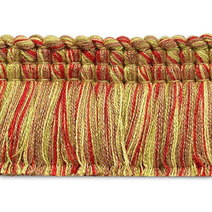Expo CN021943W146-24 24 yd of Conso Brush Fringe Trim, Gold Multi