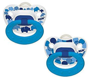 Nuk Silicone Pacifier - Fashion 2 Pk - Size 3 Boy