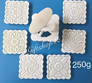Giftshop12 Cake Mold White Square Cookie Cutter