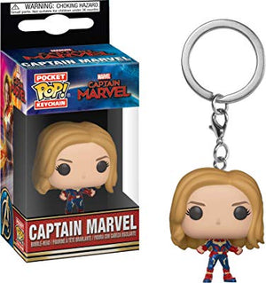 Funko Pop! Keychain Marvel: Captain Marvel - Captain Marvel Unmasked