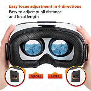 Digib Vr Headset For Iphone And Android Phones - Virtual Reality Goggles