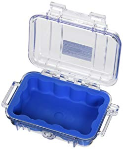 Pelican 1010 Micro Case - Blue With Clear Lid