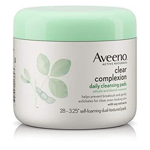 Aveeno Active Naturals Clear Complexion Daily Cleansing Pads 28 Count