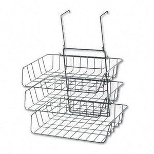 Fellowes : Wire Partition Additions Three-Tray Organizer