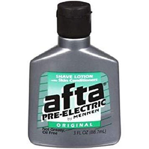 Mennen Afta Pre-Electric Shave Lotion With Skin Conditioners Original 3 Oz