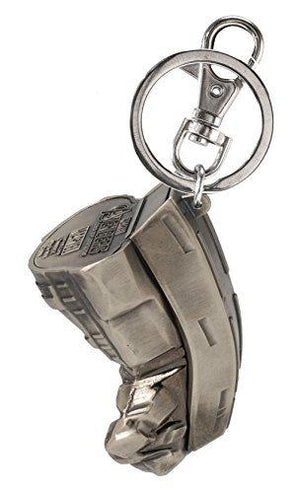 Marvel Avengers 2 Hulk Buster Fist Key Ring, Pewter