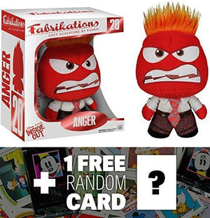 Funko Anger: Fabrikations X Disney Pixar - Inside Out + 1 Free Classic Disney Trading Card Bundle [50603]