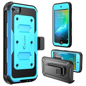 I-Blason Apple Itouch 6 Case W Front Cover And Builtin Screen Protector(Blue)