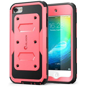 I-Blason Apple Itouch 6 Case W Front Cover And Builtin Screen Protector(Pink)