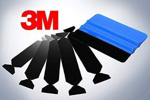 3M Hand Applicator Squeegee Pa1-B With 5X Removeable Felt Tips