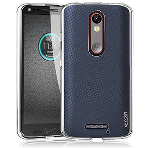 Cimo Droid Turbo 2 Case, Pleson Tou] Motorola Droid Turbo 2/Moto X Force Case Cover - Crystal Clear