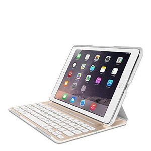 Belkin Ultimate Pro Keyboard Case For Ipad Air 2 Gold/White (F5L176Ttwgw)