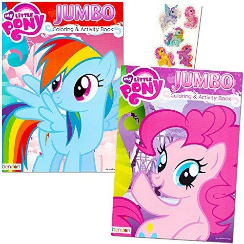 My Little Pony Coloring Book Super Set With Stickers
