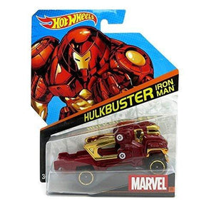 Hot Wheels, Marvel Character Car, Hulkbuster Iron Man #19, 1:64 Scale