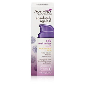 Aveeno Absolutely Ageless Daily Moisturizer With Spf 30 1.7 Fl Oz