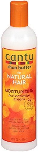 Cantu Shea Butter Moisturizing Curl Activator Cream 12 Ounce (Pack Of 5)