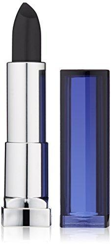Maybelline New York Color Sensational The Loaded Bolds Lipstick, Pitch Black, 0.15 Ounce