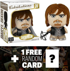 Daryl Dixon: Funko Fabrikations X Walking Dead Figure + 1 Free Official Walking Dead Trading Card Bundle [61975]