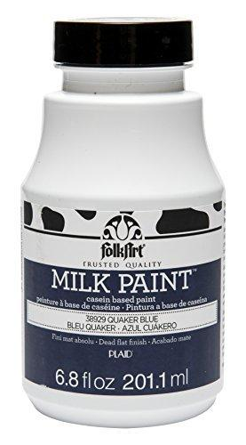 Folkart Milk Paint In Assorted Colors (6.8 Ounce), 38929 Quaker Blue