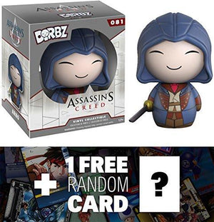 Arno Funko Dorbz X Assassin'S Creed Mini Vinyl Figure + 1 Free Video Games Themed Trading Card Bundle (71318)
