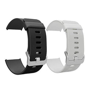 Moko Fitbit Blaze Accessory Band 2 Pcs Soft Silicone