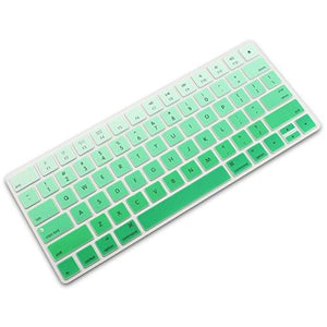 All-Inside Ombre Green Cover For Apple Magic Keyboard (Mla22Ll/A) With Us Layout