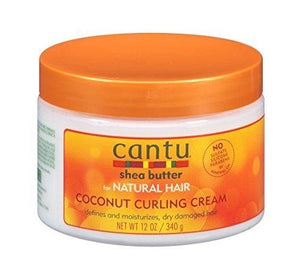 Cantu Shea Butter Coconut Curling Cream, 12 Oz(340 G) - 2 Pack