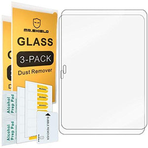 Mr Shield For Samsung Galaxy Tab 4 10.1 10Inch Tempered Glass Screen Protector 2-Pack
