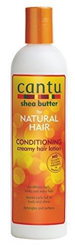 Cantu Shea Butter For Natural Hair Conditioning Creamy Hair Lotion, 12 Oz.
